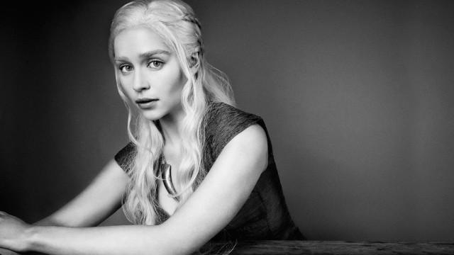 Lunchen met de cast van Game of Thrones; video met Emilia Clarke