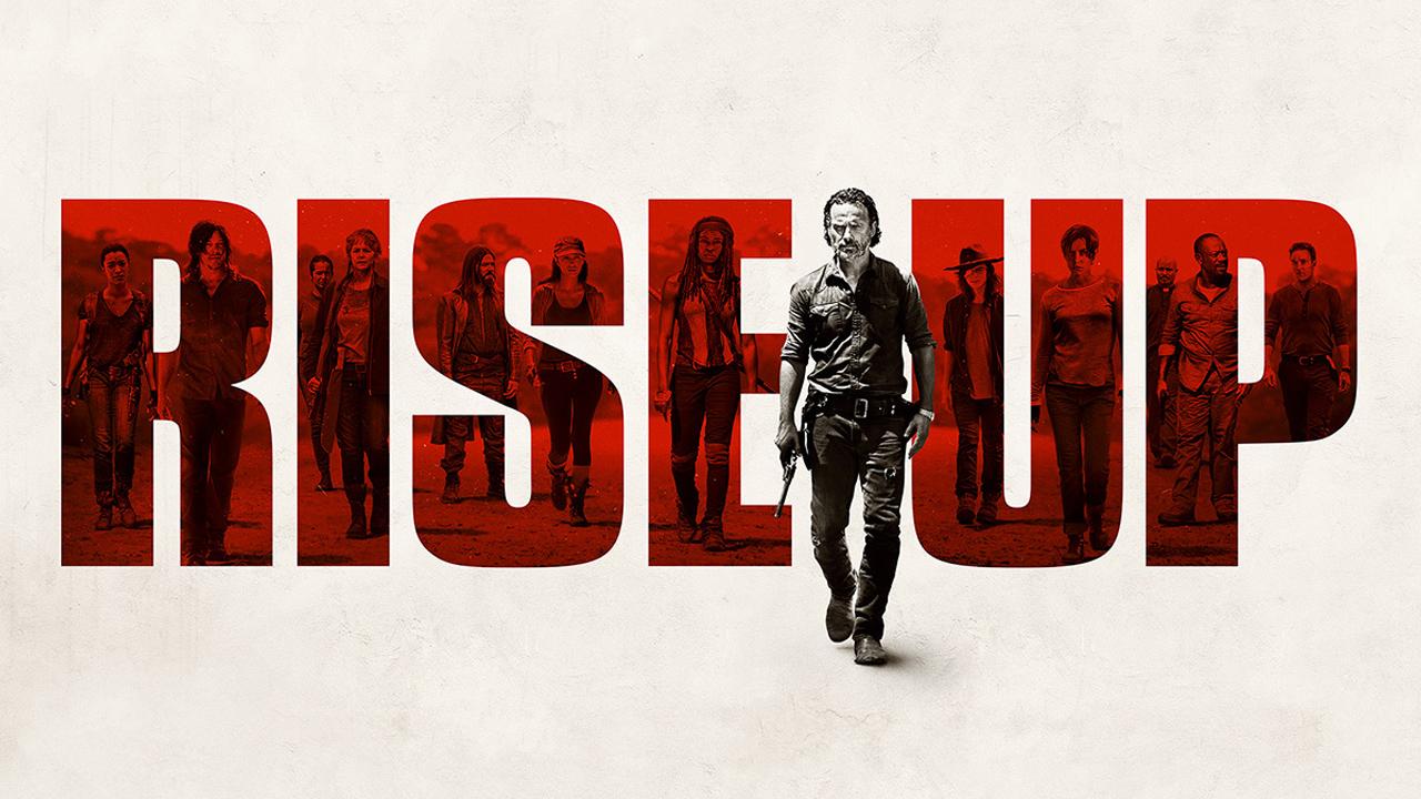 The Walking Dead season finale super-sized