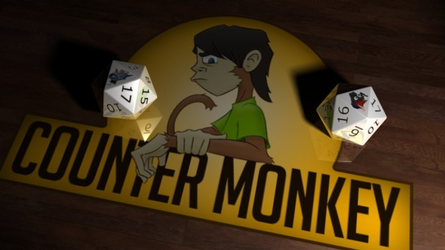 Counter monkey