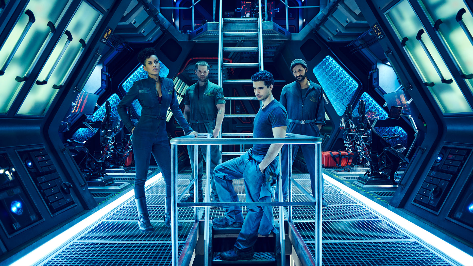 Permanent roles for three actors in the science fiction series The Expanse