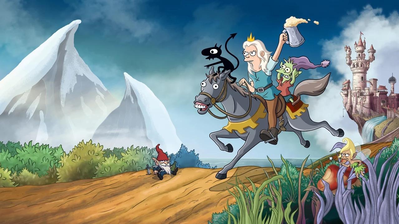 Nieuwe trailer voor animatieserie Disenchantment