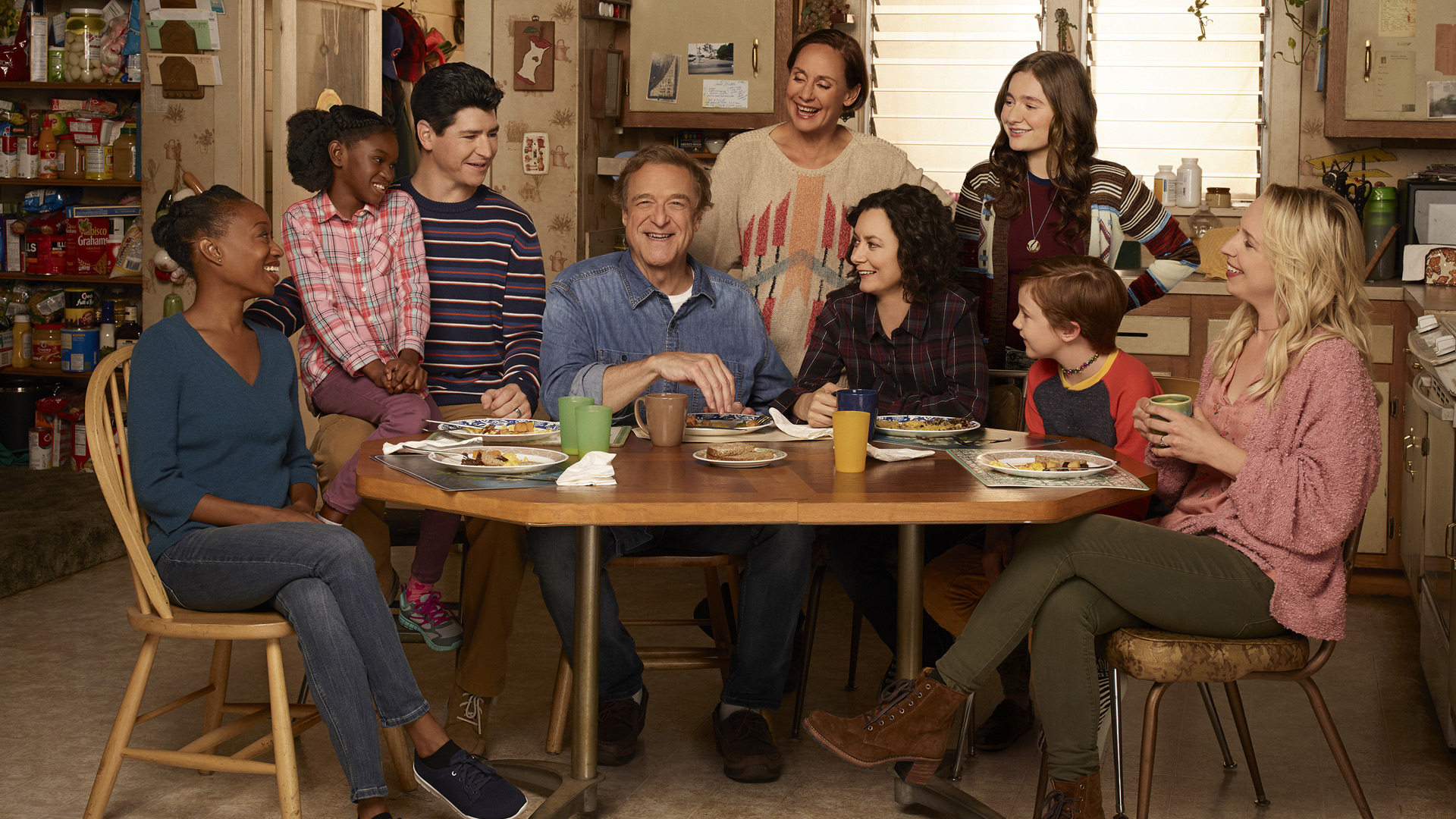 ABC will broadcast a live episode of The Conners