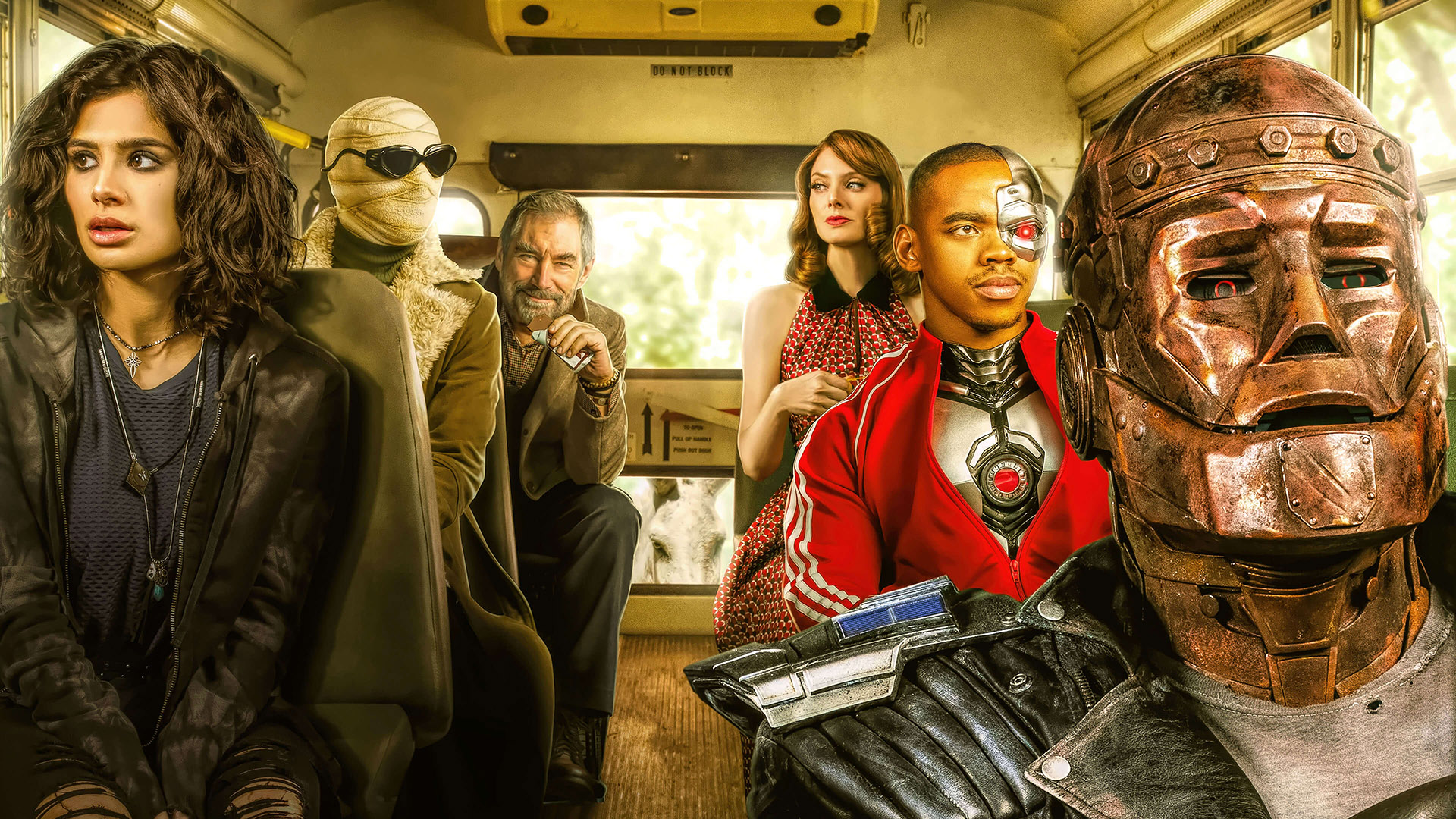 Second season Doom Patrol will start near the end of June