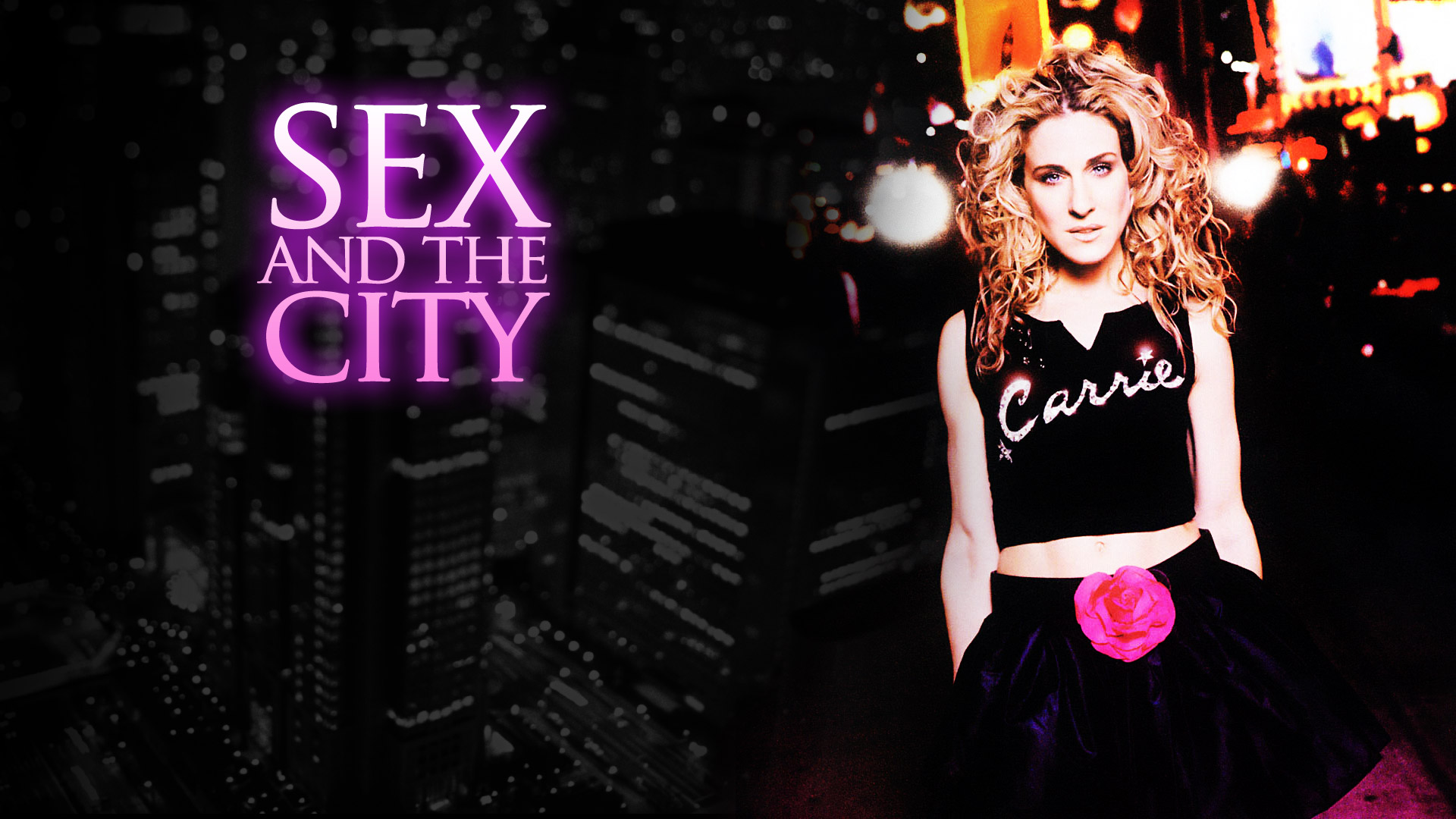 Sex and the city creator used to blast the theme song in his car to get people to watch the show
