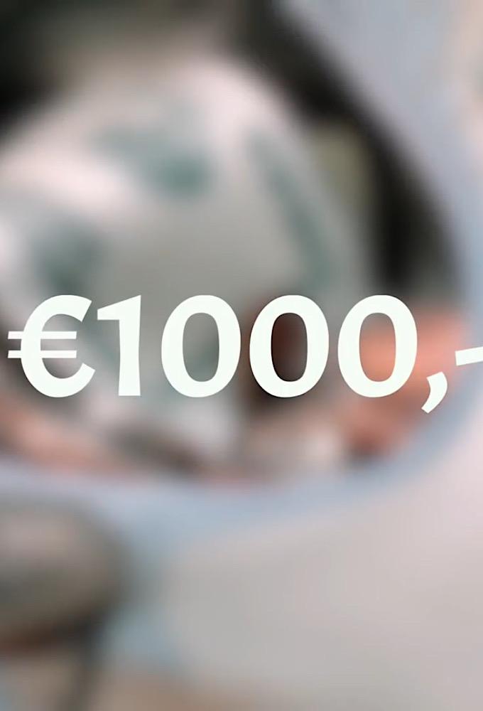 Van 0 naar 1000 Euro